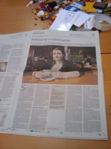 Sarah in the Guardian