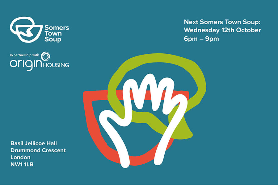 Somers Town Soup - October event