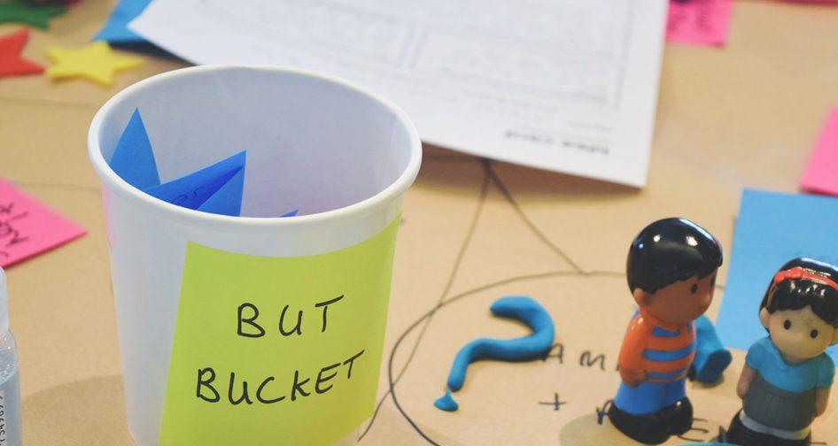 but bucket