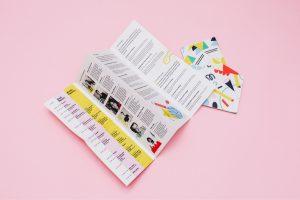 Folded flyer