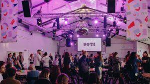 DOTI Fest, main hall, Oval Space