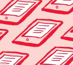 Illustration of iPads