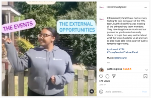 Screenshot of a social media post created by the YPiL panel